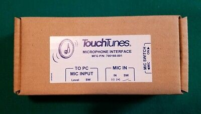 NEW Touchtunes Microphone Interface 700166-001