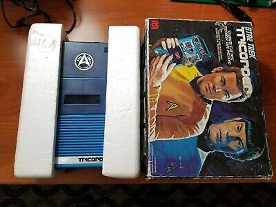 Star Trek The Original MEGO TRICORDER  1976 In Box Repro Tape Included