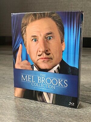 The Mel Brooks Collection Blu-ray Box Set - Complete - Excellent Condition