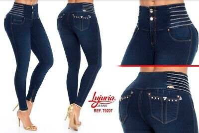LUJURIA, Jeans Colombianos, Authentic Colombian Push Up Jeans,Levanta Cola