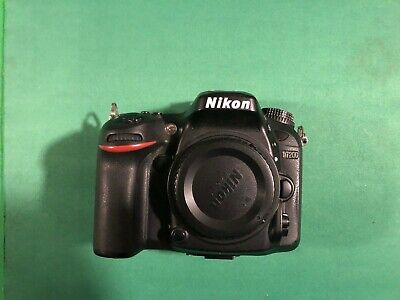 Nikon D7200 24.1MP Digital SLR Camera Body shutter count 11522 shots