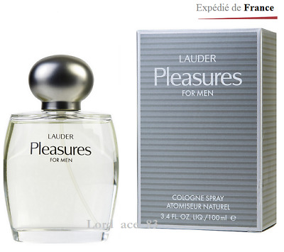 Lauder Homme Men Estee Vapo De Cologne 100ml For Pour Neuf Pleasures Lq4c3SARj5
