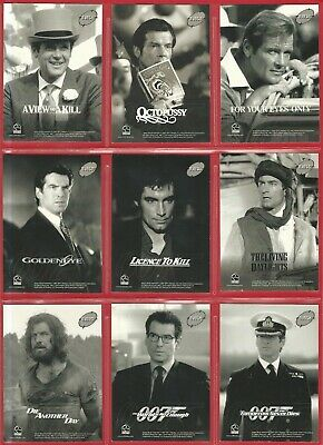 TRADING CARDS - JAMES BOND 50th ANNIVERSARY CHASE CARDS - BJB12 to BJB22 (NF01)
