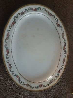 Antique Booths Silicon China Large Plate Platter