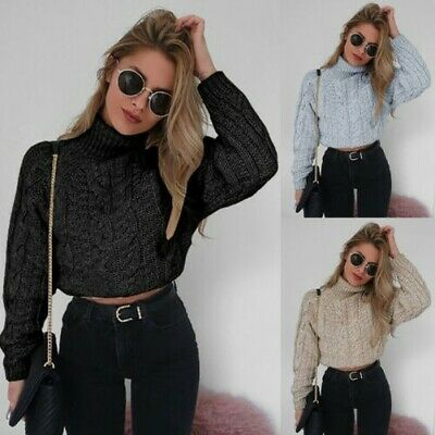 Top Superbe Knit Pull Courtes Col Haut Tm36 Manches Montant Zara n80kwOP