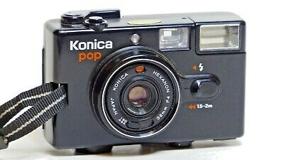 Konica Pop 35mm compact film camera