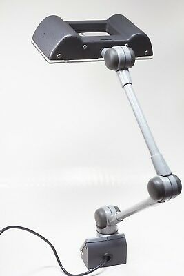 EDL very rare vintage Lens-lite, Jewellers/Watchmakers magnifying anglepoise.