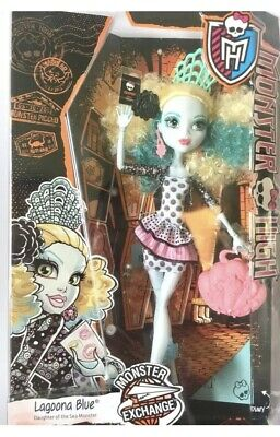 Monster High Doll Lagoona Blue Student Exchange New In Box
