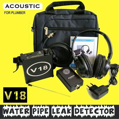 V18 Water pipe leak detector detection device