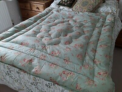 Vintage 1930s/40s Feather Eiderdown, Double Size