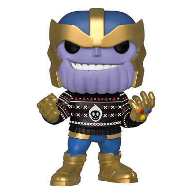 Funko Pop! Vinyl Thanos Holiday 2019 In Xmas Jumper # ** In Stock Now! **