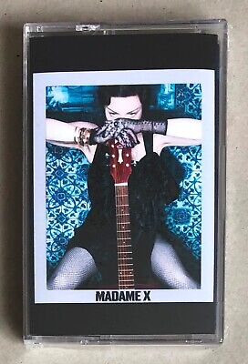 Madonna * Madame X * Uk Exclusive Limited Edition Blue Cassette * New & Sealed!