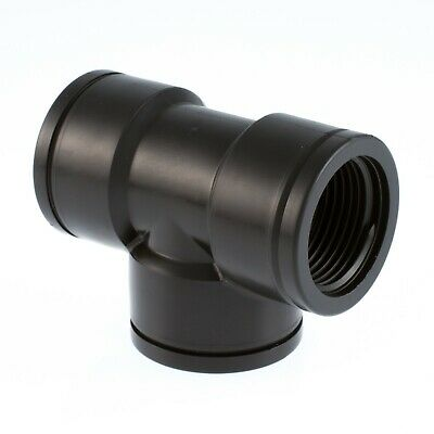 """Equal Tee (Female)   -  Polypropylene Pipe Fittings (PP)    -   1/2"""" To 4"""" BSP"""