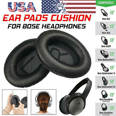 Ear Pads Cushion Replacement For Bose Quietcomfort Headband Qc15 25