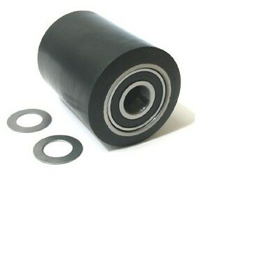 H-1043-Whkit Load Roller Assy, Black Ultra Poly On Steel For Uline H-1043 Frame