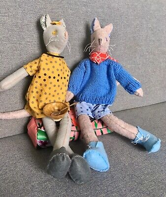 Sewing Luna Lapin's Friends - Molly Mouse And Willy Mouse