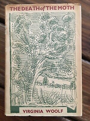 Virginia Woolf The Death Of The Moth 1942 HC