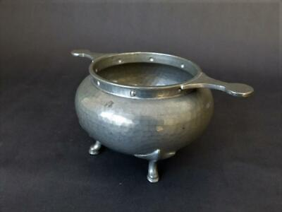 1920's Pewter Quaich - Large Cooper Bros, Sheffield Quaich