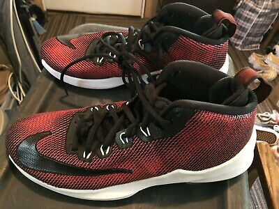 cea4ce55c8 NIKE LEBRON XII 12 Low University Red Mens Shoes Size 10 Basketball ...