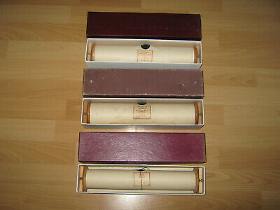 5 Notenrollen Phonola Pianola 18028, 6094, 5141, 3456, 3209 Wagner Beethoven