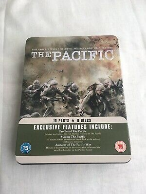 The Pacific,DVD 2010, 6-Disc Set, Box Set In A Steel Tin
