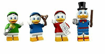 Lego Disney Minifigures 2: Ducks Huey, Dewey, Louie, Scrooge; You Choose!