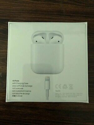 Apple AirPods 2nd Generation with Charging Case - White - New