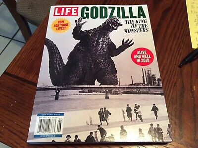 LIFE Special 2019, Godzilla, The King Of The Monsters, New BOOK