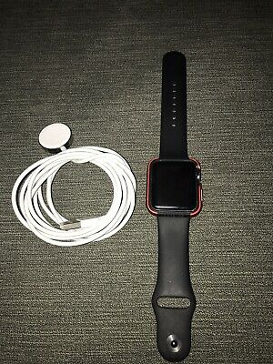 1st Generation Apple Watch w/ Sports Case And Charging Cable