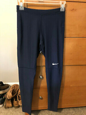 1fa57d07ab95a Nike Power Essential Men's Size Small Running Tights Navy Pants 905089 011  Nwt