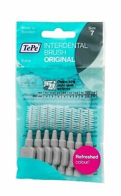 TePe Grey 1.3mm Interdental Brush - Pack of 8 Brushes