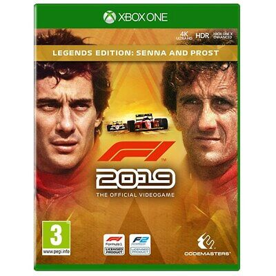 F1 2019 Legends Edition Senna & Prost Xbox One (Download/Leggi Descrizione)