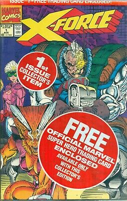 X-Force #1 Rob Liefeld Cable Card Variant A X-Men Deadpool 1st Print NM/M 1991