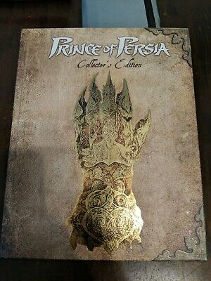 Prima Prince of Persia Collectors Edition Hardcover Strategy Guide Xbox PS3 PC
