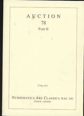 NAC 78 - II - Greek Roman Byzantine Gold Silver Coins CoinCollection Auction