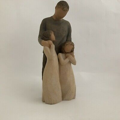 Willow Tree hand-painted sculpted figure, My Girls