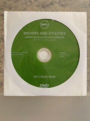 DELL INSPIRON N5110 Drivers and Utilities Disc 02579V UNOPENED Plus