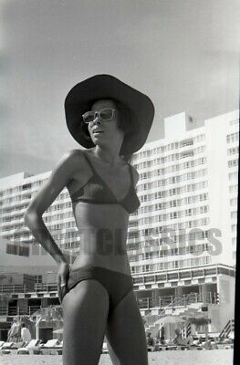 Diana Ross In Bikini Miami 1972 Beautiful Camera Negative Peter Basch