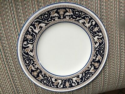 """Wedgwood -""""Florentine Dark Blue"""" -W1956 - Bread & Butter Plate - 12 Available -"""