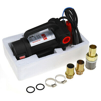 Set of DC 12V Diesel Fluid Extractor Electric Transfer Fuel Pump 200W 42L/min
