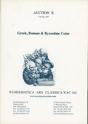 2007 - NAC 'R'  - Greek Roman Byzantine Coins Coin Auction Catalog Reference