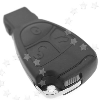 3 Button Remote Key Fob Case Shell For MERCEDES BENZ R C E S ML CL CLK CLS SLK