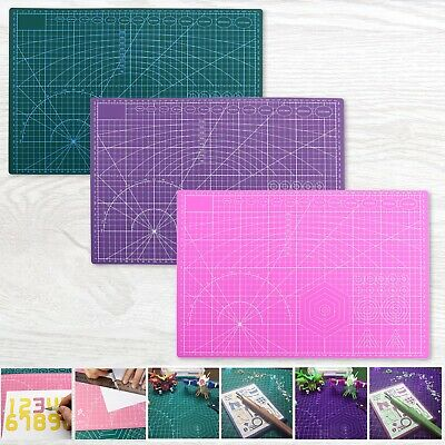 """A3 Cutting Mat Double Sided Cutting Printed Board 18x12"""" Quilting Cutting Paper"""
