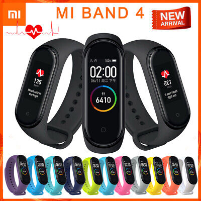 "Xiaomi Mi Band 4 Smart Bracelet 0.95"" AMOLED Waterproof Sport Wristband Watch"