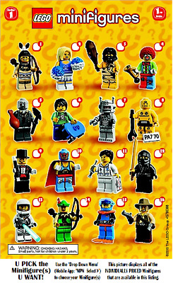 LEGO Collectible Minifigures Sets **SERIES 1**