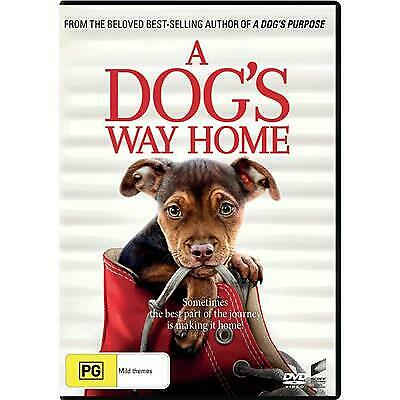 A Dogs Way Home Dvd, New & Sealed, 2019 Release, Region 4, Free Post