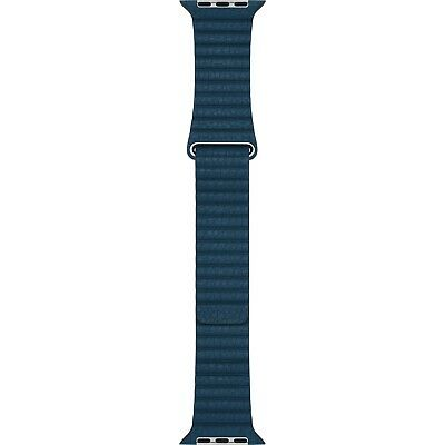 42/44mm (Large) Cosmos Blue Leather Loop Apple Watch Band Authentic/Genuine