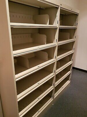 Metal filing cabinets x 2, used, good working condition.