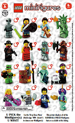 LEGO Collectible Minifigures Sets **SERIES 6**