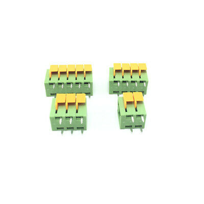 KF142V-5.08MM 2/3/4/5/6/7/8/9/10P Spring Type PCB Terminal Blocks Connector